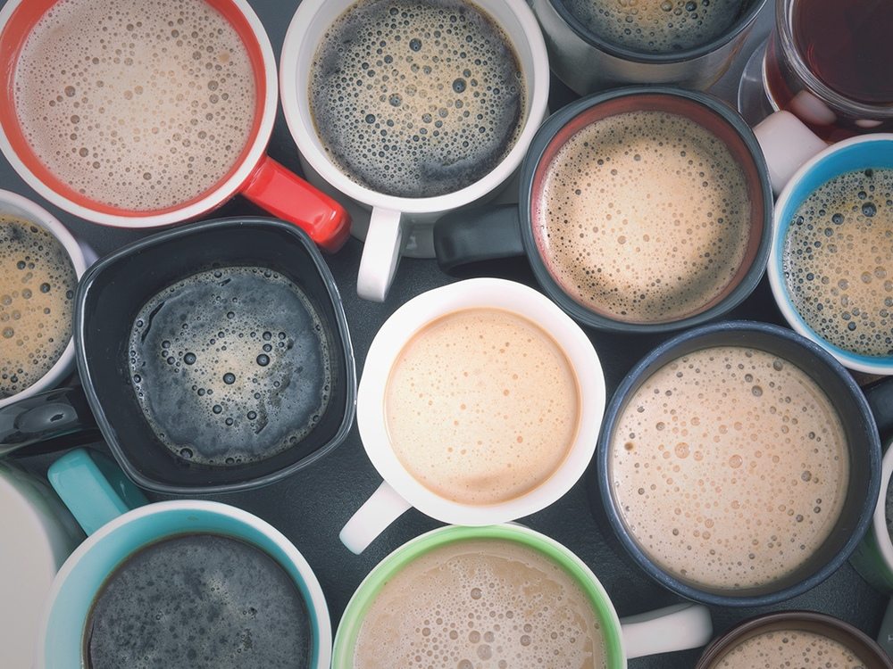 Drink a lot of coffee. It is Healthy [infographic]