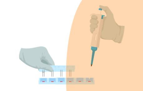 Laboratory procedures – Scientific illustrations #41