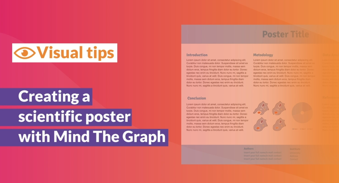 Tutorial video: Creating a scientific poster