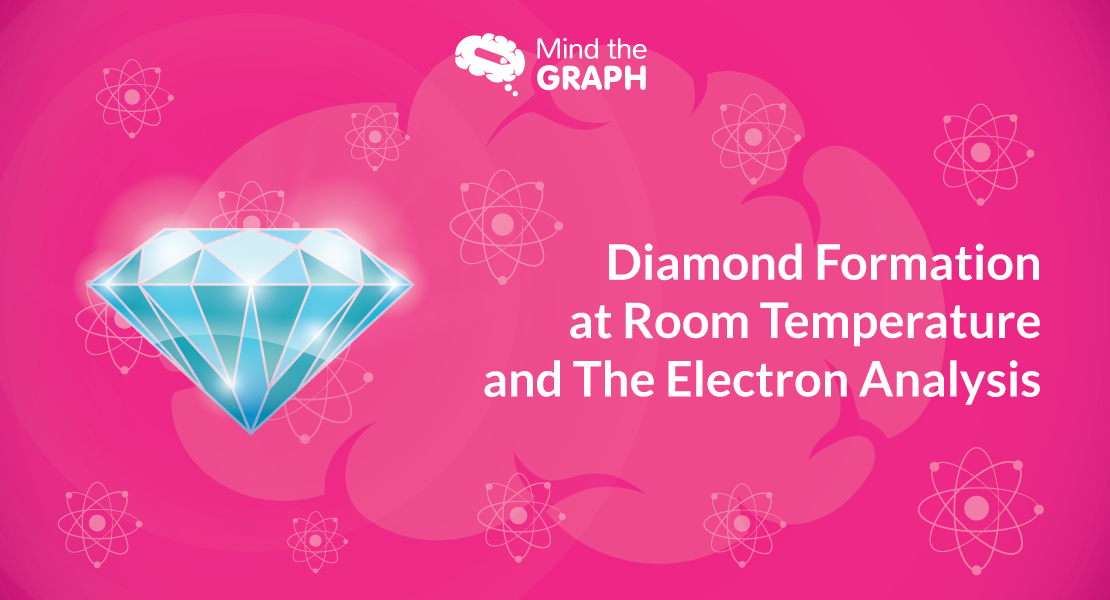 Diamond Formation at Room Temperature and The Electron Analysis