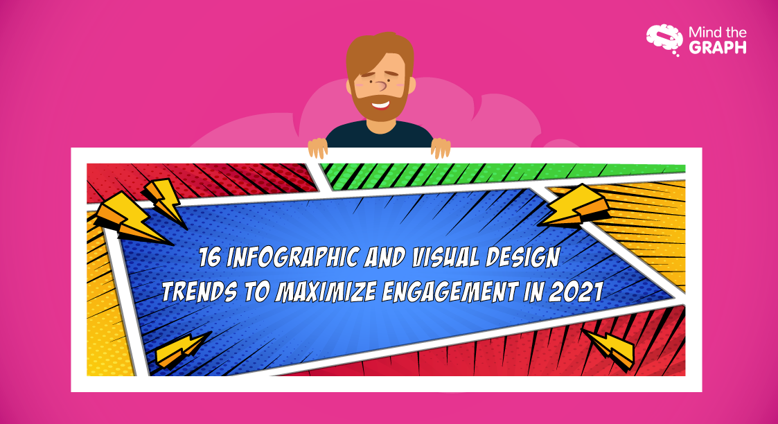 Featured image of the blog - Infographic and Visual Design Trends to Maximize Engagement