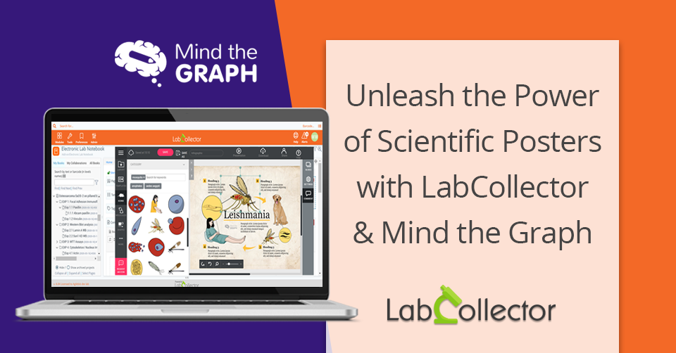 Unleash the power of scientific posters with LabCollector and Mind the Graph!